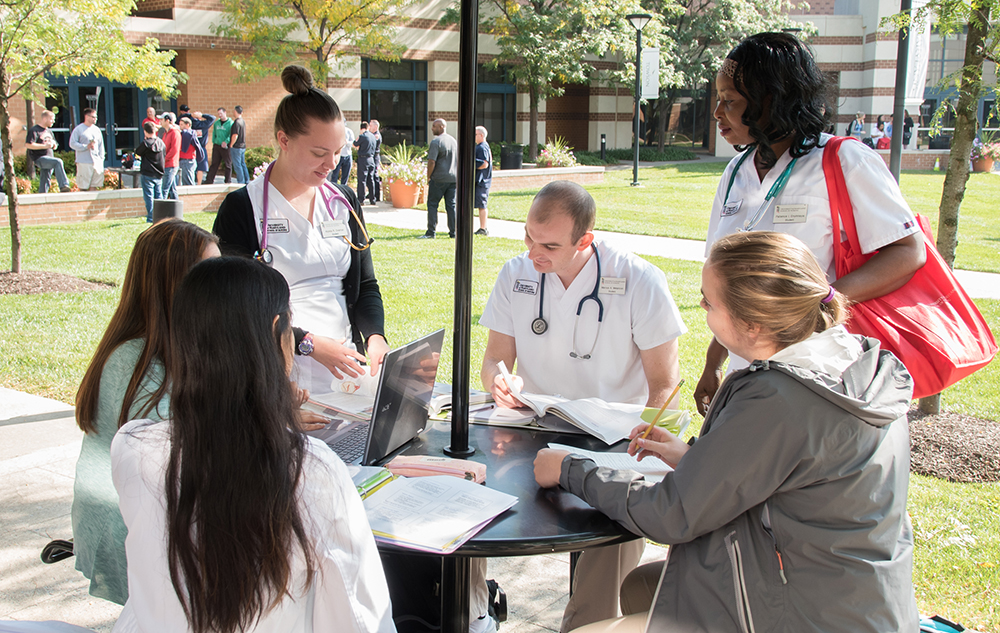 Nursing Students at Universities at Shady Grove