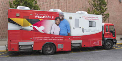Governor's Wellmobile