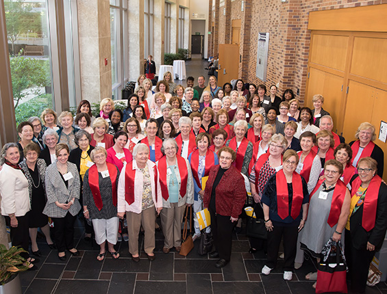 On Saturday, April 16, more than 100 alumni and guests returned to the University of Maryland School of Nursing to reunite with classmates and friends and renew their pride in their alma mater.