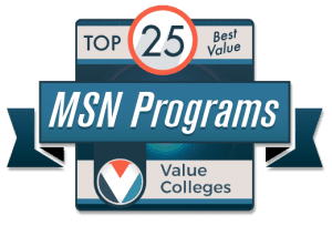 Top 25 Best Value MSN Programs - Value Colleges