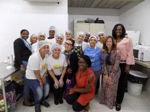 Office of Global Health - Brazil - Group Shot at Facility