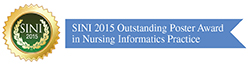 Outstanding Poster Award in Nursing Informatics Practice Badge