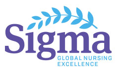 Sigma logo: Global Nursing Excellence